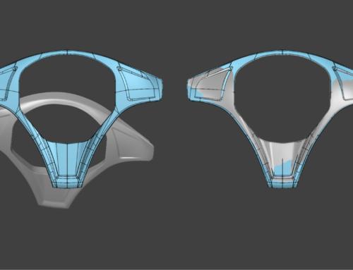 Ornament volan – design interior vehicul