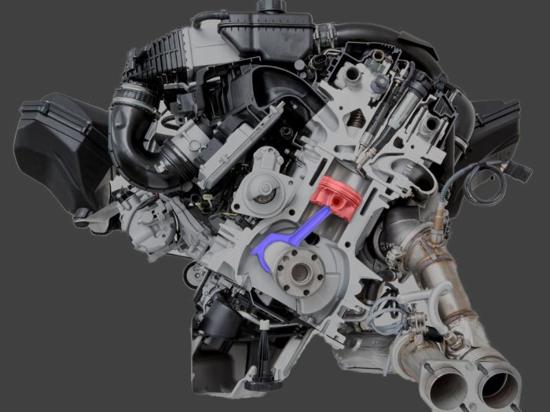Motor S544 BMW M4